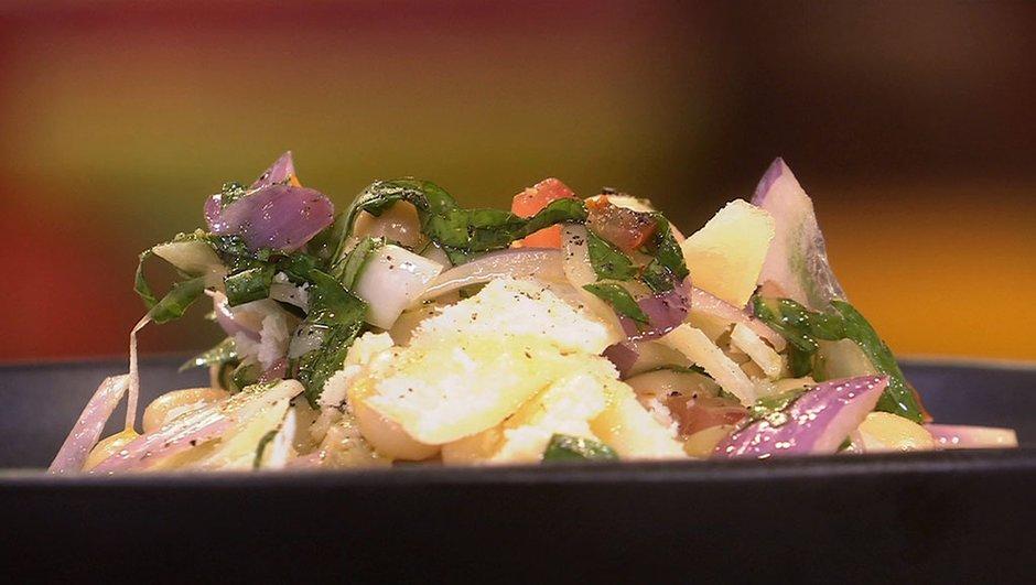 Coco de Paimpol en salade