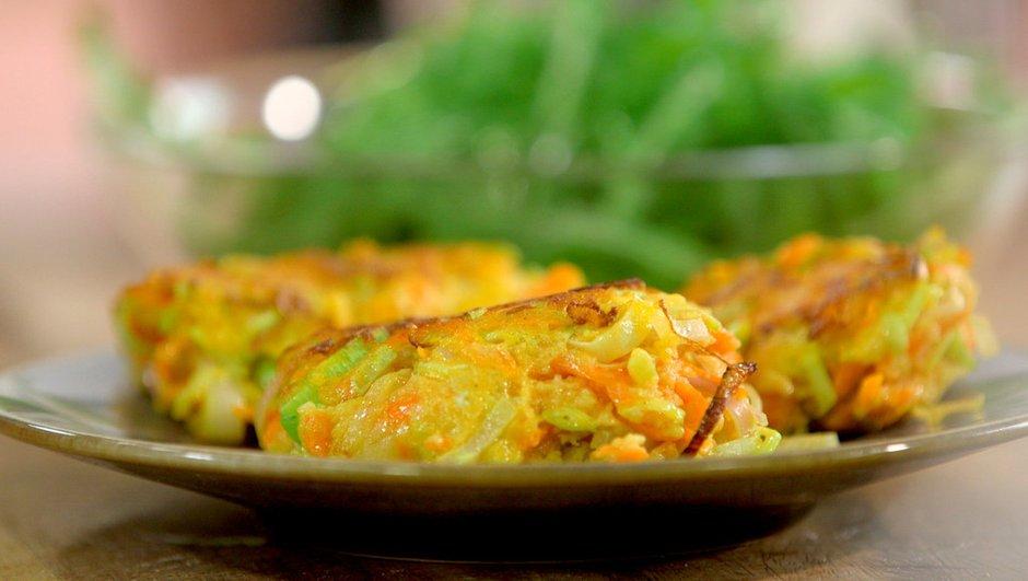 Croquettes de légumes au comté