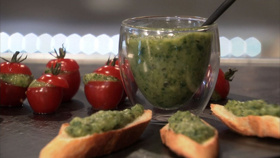 Caviar de courgette grise de Provence