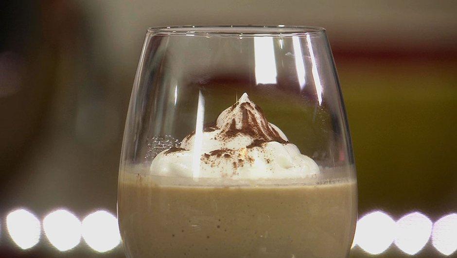 Crème au café façon Liégeois