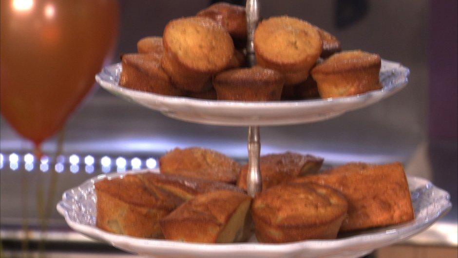 Mini cake aux dattes et poires