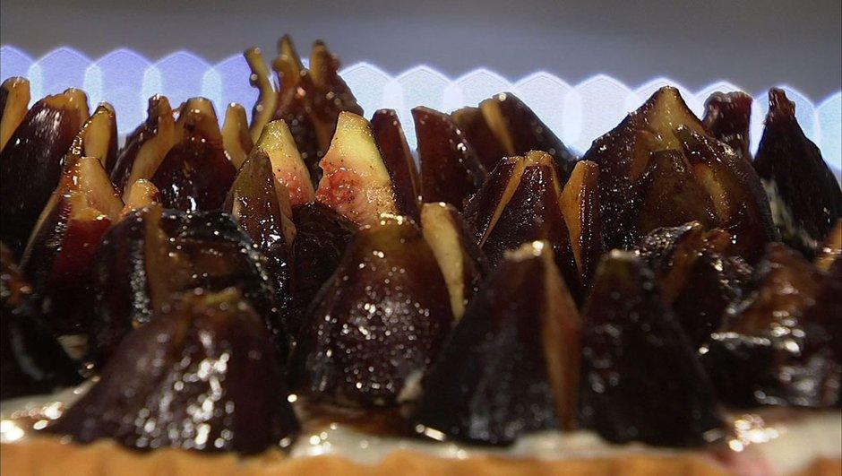Tarte aux figues noires à la faisselle