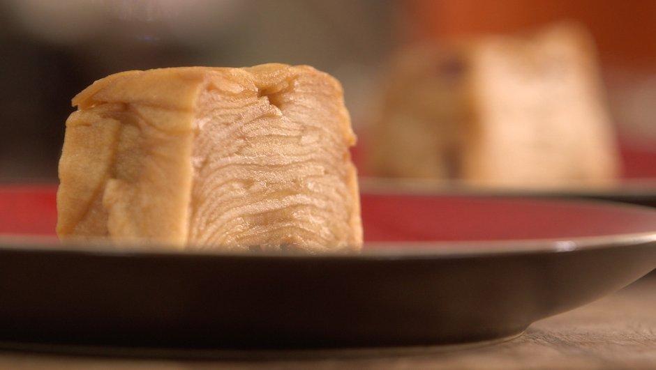 Cake aux pommes sans œuf et sans farine