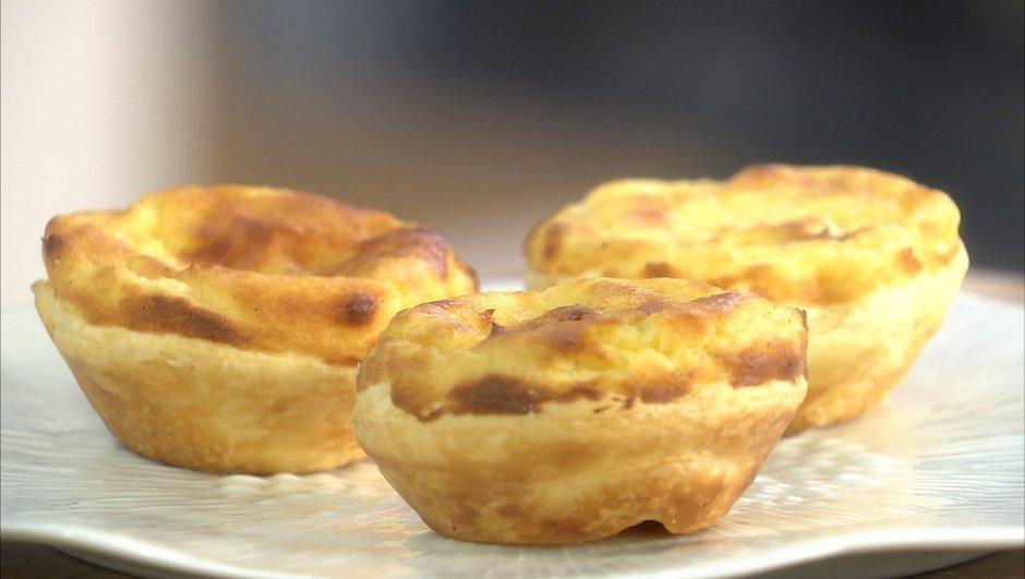 Petits flans parisiens façon pastéis de nata