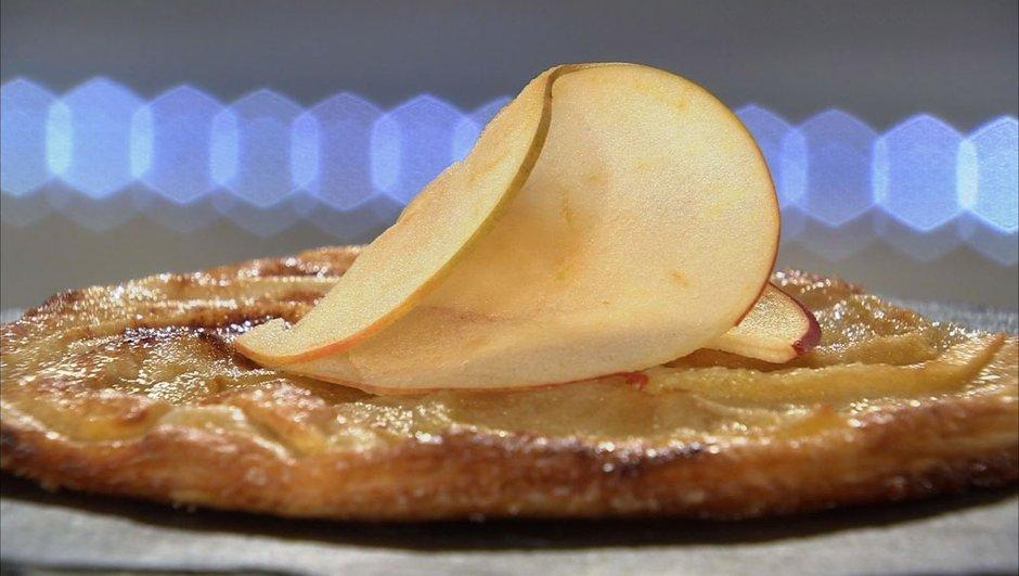 Tarte fine aux pommes reine des reinettes