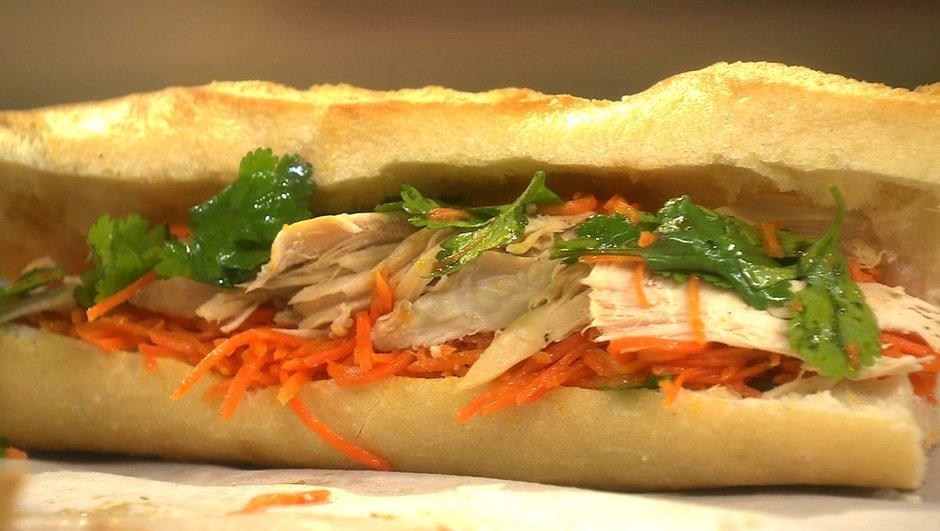 Sandwich à la vietnamienne