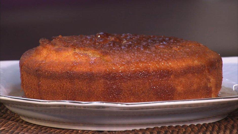 Gâteau de yaourt au citron vert