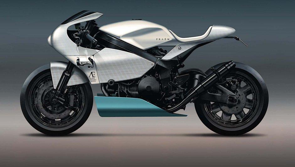 Salon Moto de Paris 2015 : Praëm AE15 SP3, une superbike de luxe à la française