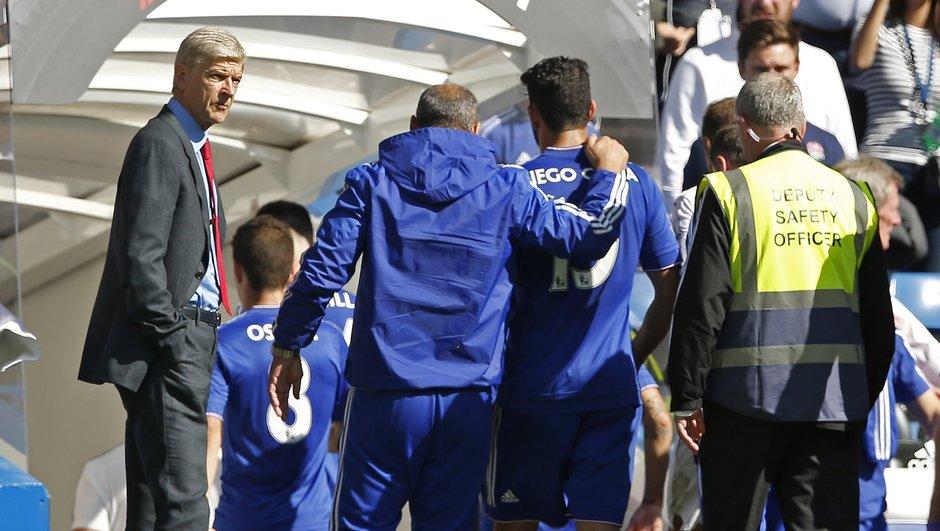 Chelsea-Arsenal : Arsène Wenger s'en prend à Diego Costa