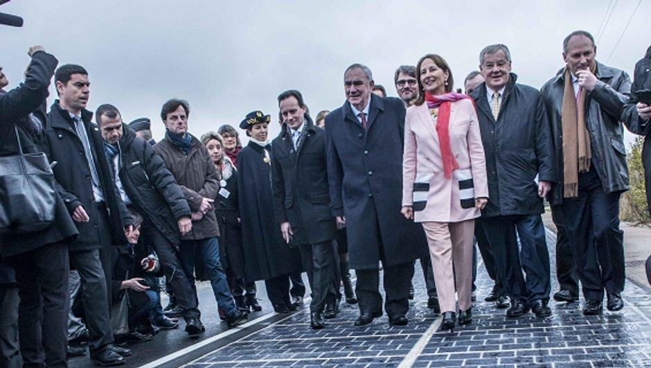 La première route solaire a été inaugurée en France !