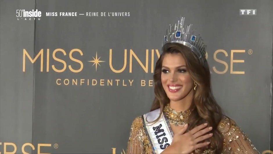 La nouvelle vie d'Iris Mittenaere élue Miss Univers