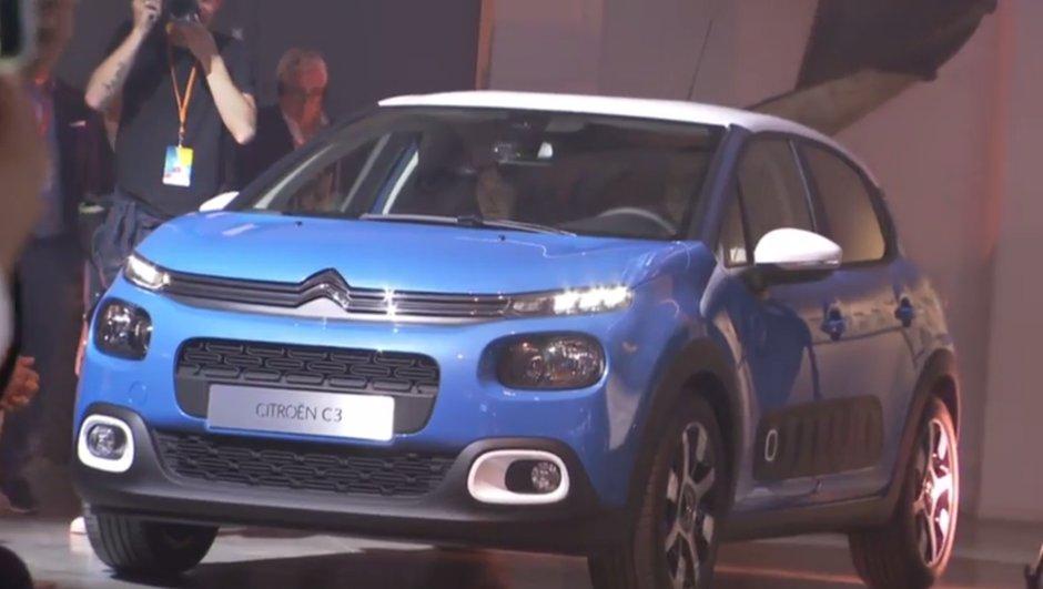 Nouvelle Citroën C3 2016 : les vidéos, photos et infos officielles !