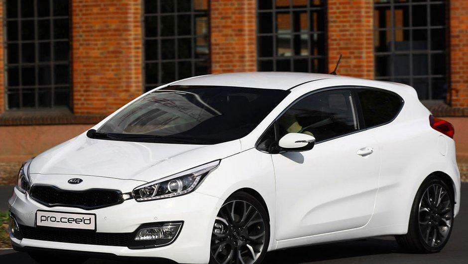 Mondial de l'Auto 2012 : la nouvelle Pro Cee'd de Kia