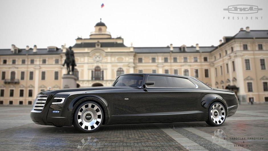 Design : la future limousine de Vladimir Poutine ?