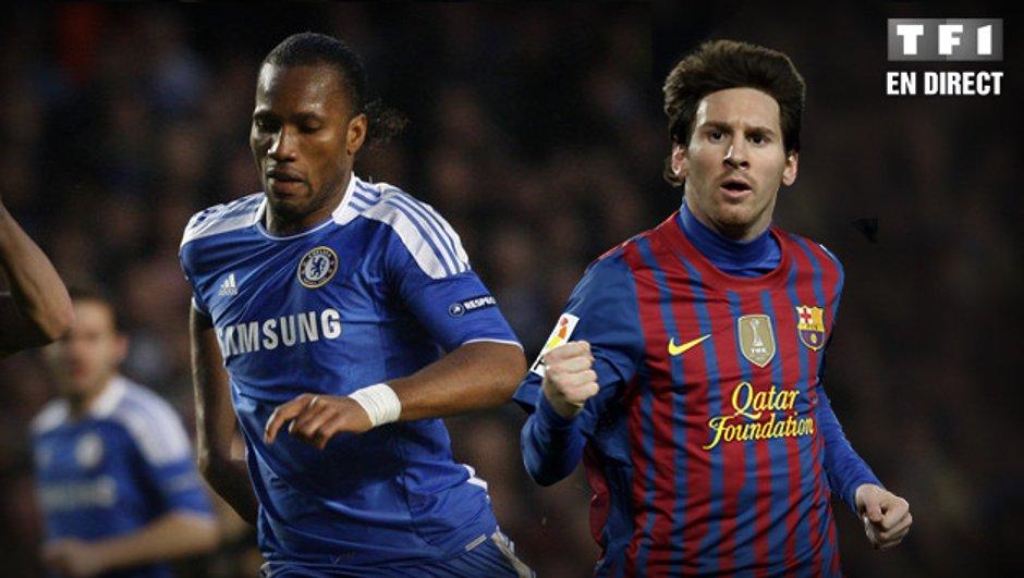 FC Barcelone - Chelsea en streaming vidéo !