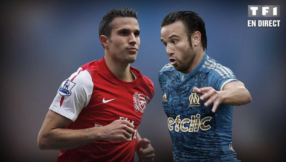 OM - Arsenal en streaming vidéo !