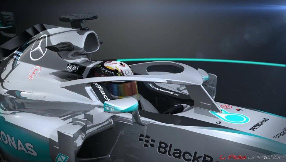 Bientôt un pare-brise en F1 ?