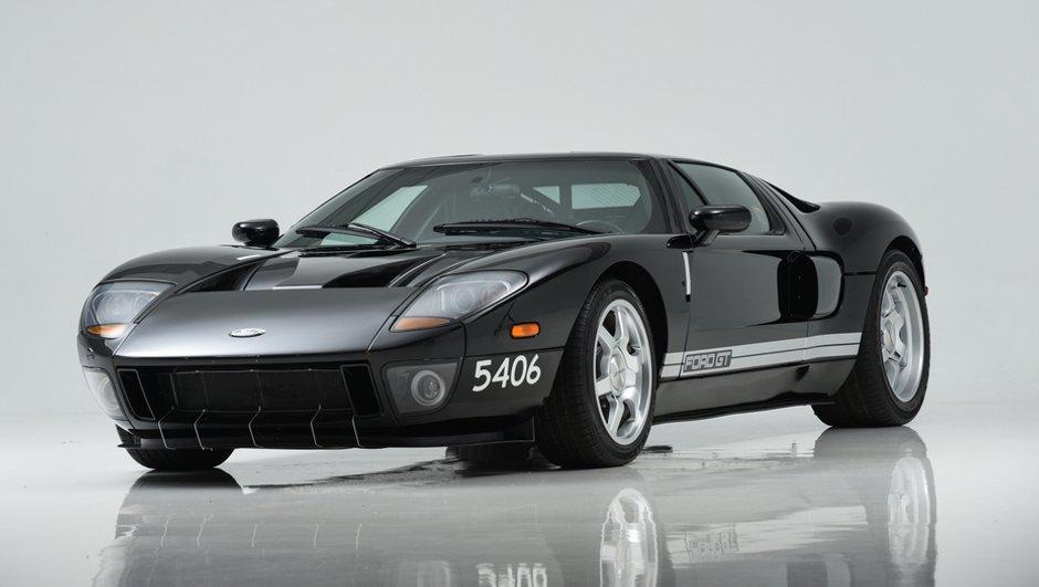 Un incroyable prototype  de la Ford GT à vendre