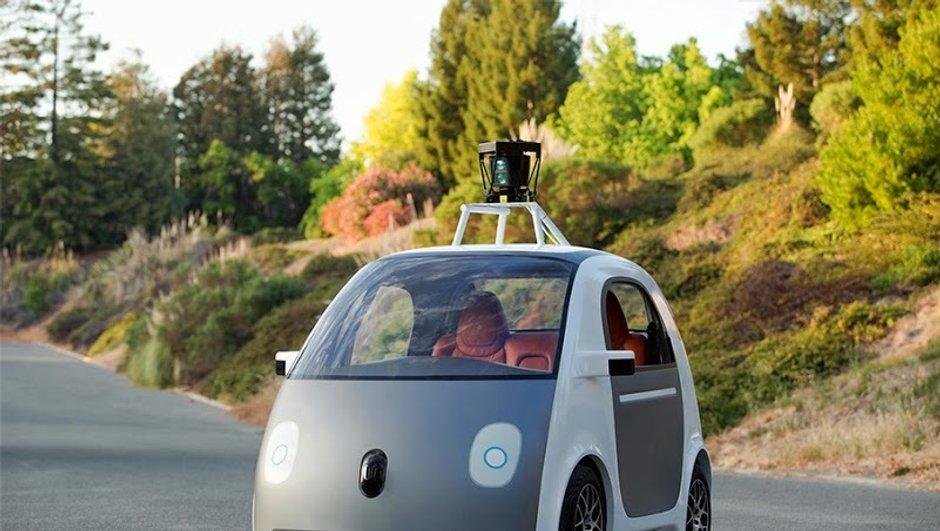 Voiture Autonome : Google a présenté son propre prototype roulant
