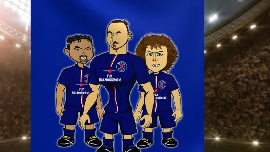 video-insolite-psg-chelsea-parodie-cartoon-6114404