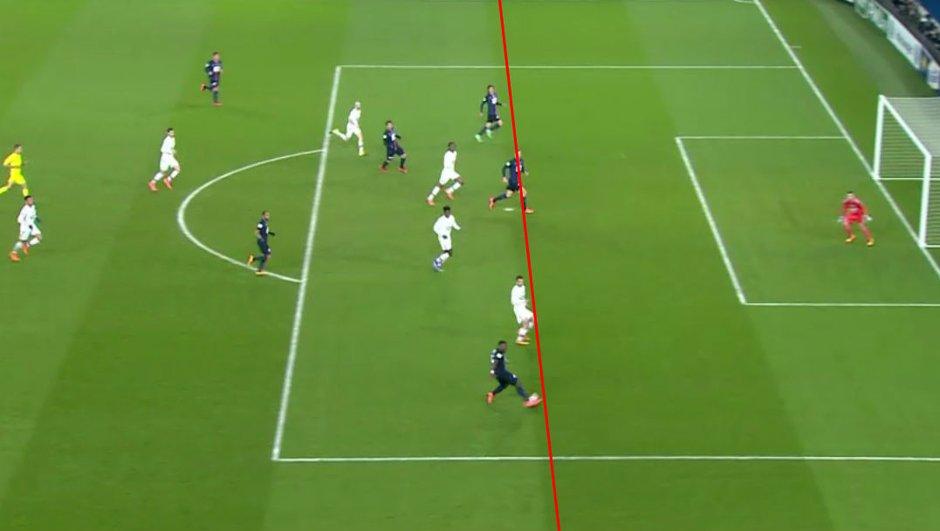 Zlatan Ibrahimovic était-il hors-jeu sur le 2ème but du PSG face à l'OL ?