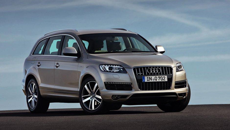 Audi Q7 : des nouvelles motorisations plus économes