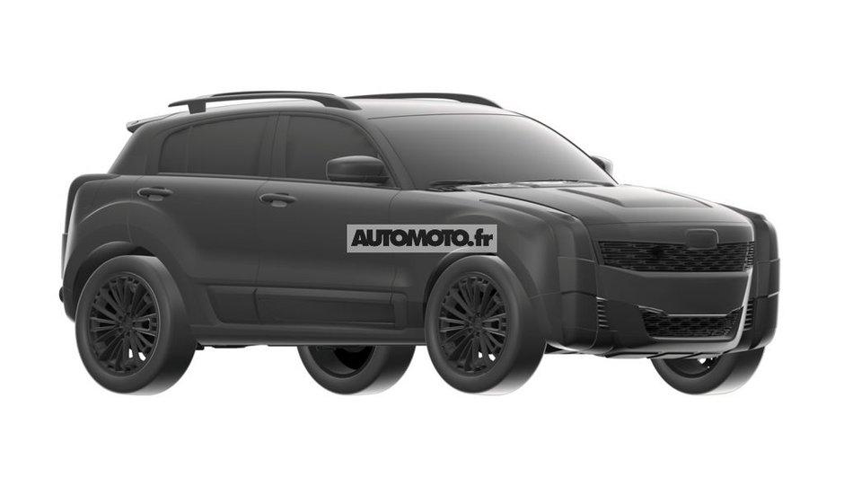 Qoros 2 PHEV Concept 2015 : premières images scoop