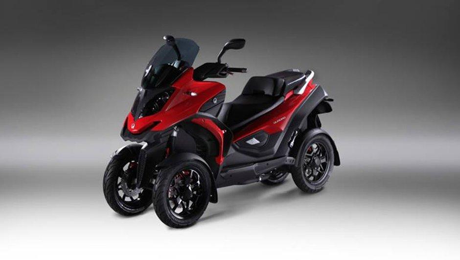 EICMA 2013 : Quadro4, premier scooter 4 roues