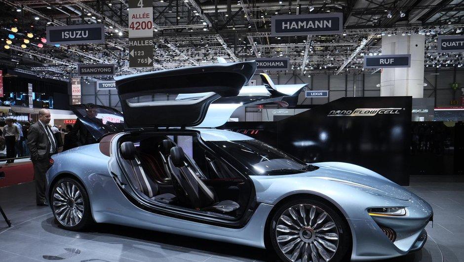 Salon de Genève 2014 : Quant e-Sportlimousine Concept, l'avenir des batteries ?