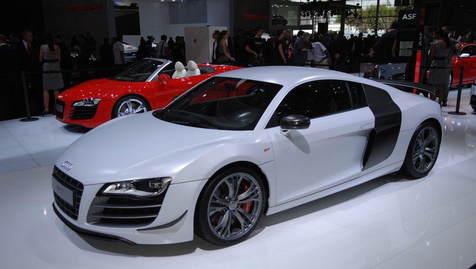 Mondial de l'Auto 2010 : Audi R8 GT, l'édition ultra-limitée !