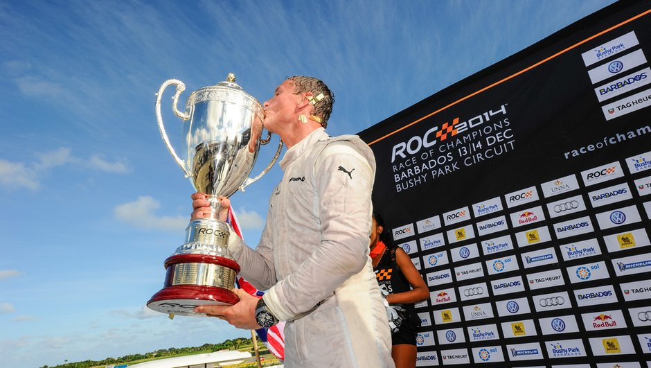 Race of Champions 2014 : David Coulthard et le Team Nordic vainqueurs