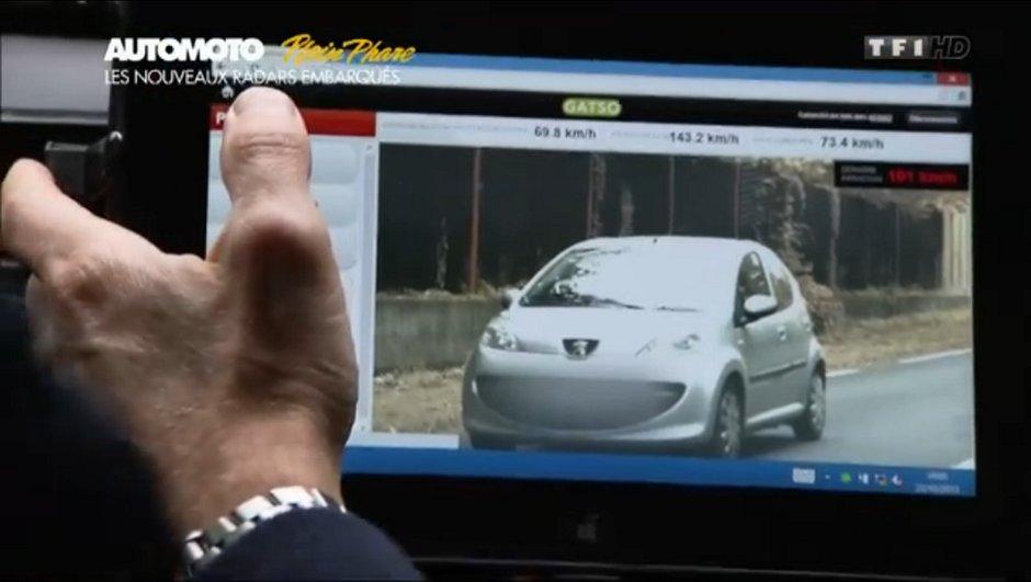 Nouveaux radars mobiles : 300.000 automobilistes flashés en une année