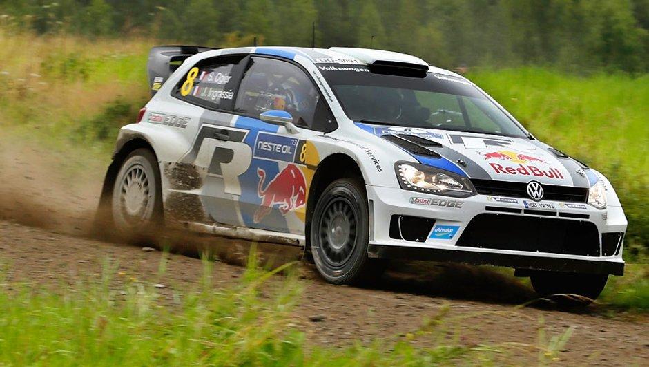 WRC - Rallye de Finlande - Spéciales 18 et 19: Ogier devant, Ostberg s'accroche