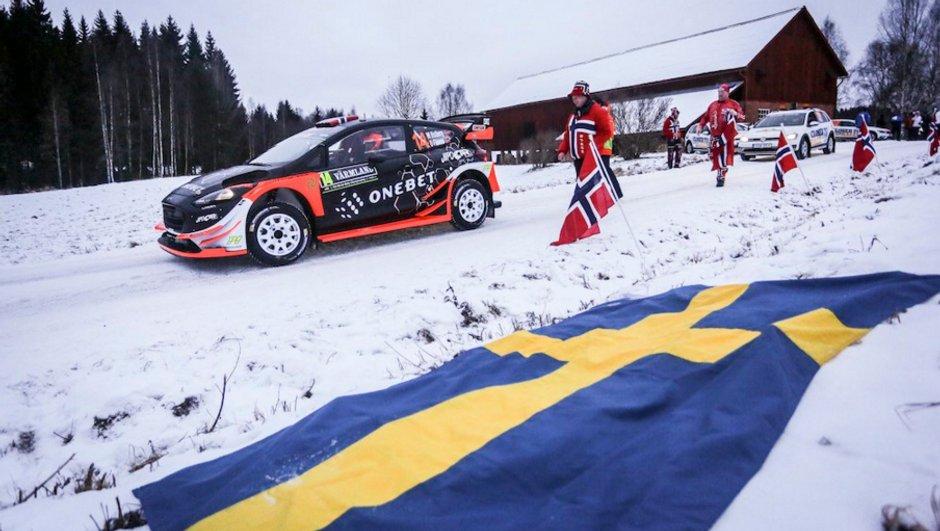Rallye WRC Suède 2017 : Mads Ostberg et Craig Breen brillent au shakedown