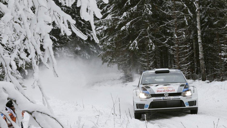 WRC - Rallye Suède 2013 : Ogier distance Loeb vendredi soir