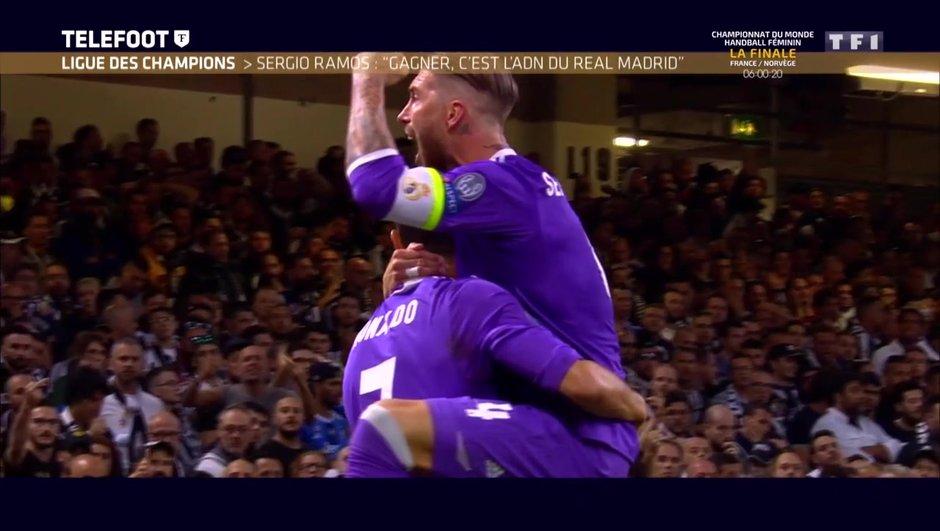 "[EXCLU Téléfoot 17/12] - Real Madrid / Sergio Ramos : ""Cristiano Ronaldo est déjà une légende"""