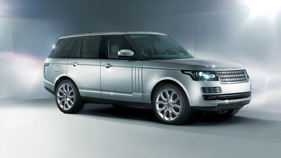 Mondial de l'Auto 2012 : nouveau Range Rover dévoilé