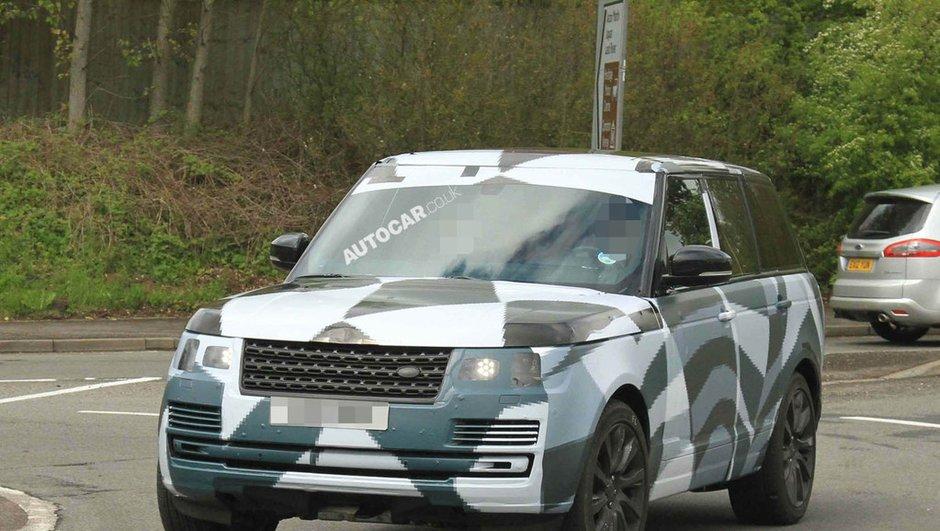 Range Rover 2013 : le camouflage s'amincit