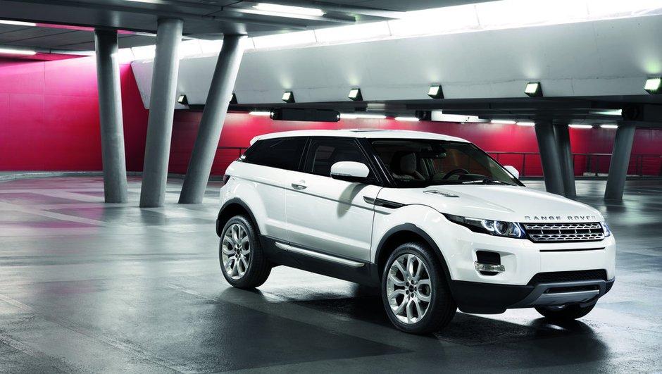 Le Range Rover Evoque présenté au Mondial de l'Auto