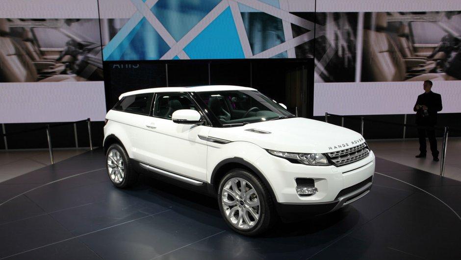 Mondial de l'Auto 2010 : le Range Rover Evoque laisse rêveur !