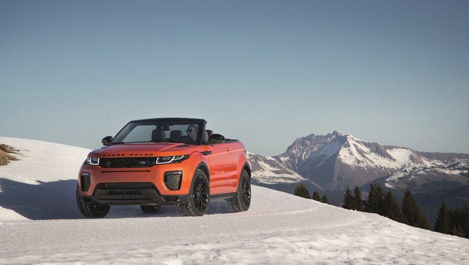Range Rover Evoque Cabriolet 2016 : vidéos, photos, infos et prix officiels