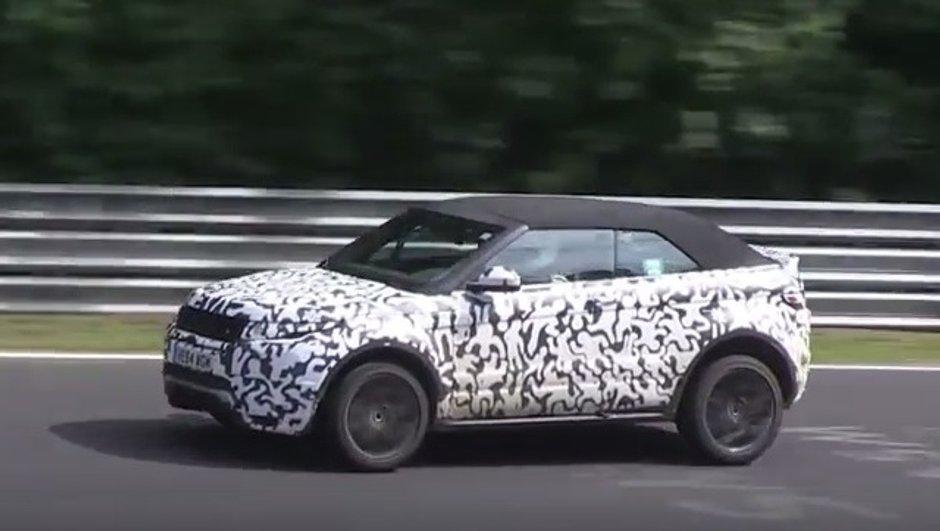VIDEO Scoop: Le Range Rover Evoque Cabriolet sur le Nürburgring
