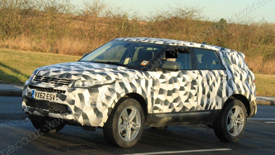 Scoop : le Range Rover Evoque bientôt en version longue