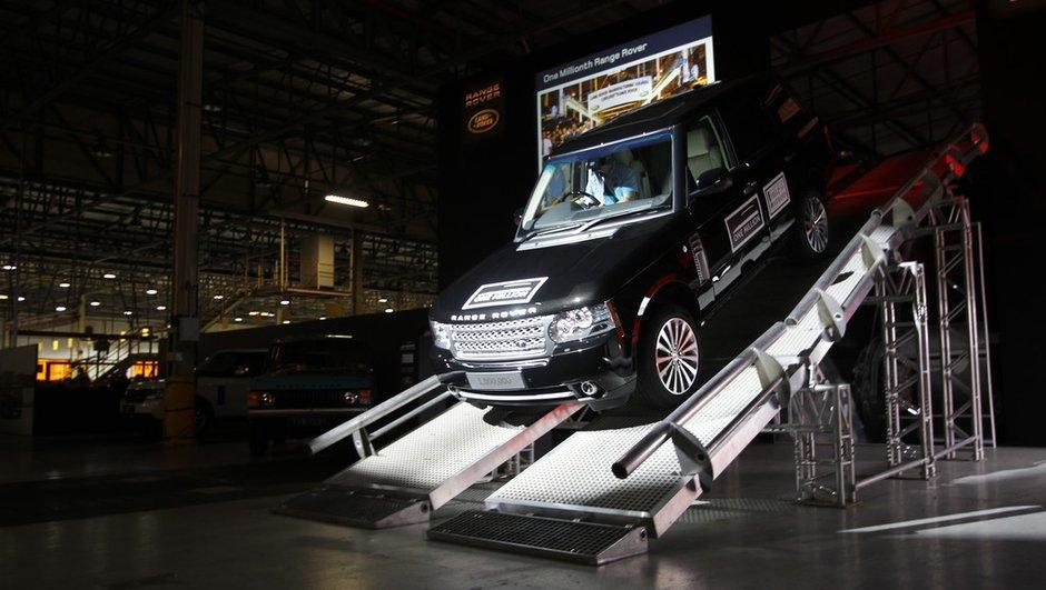 Le million pour Range Rover !