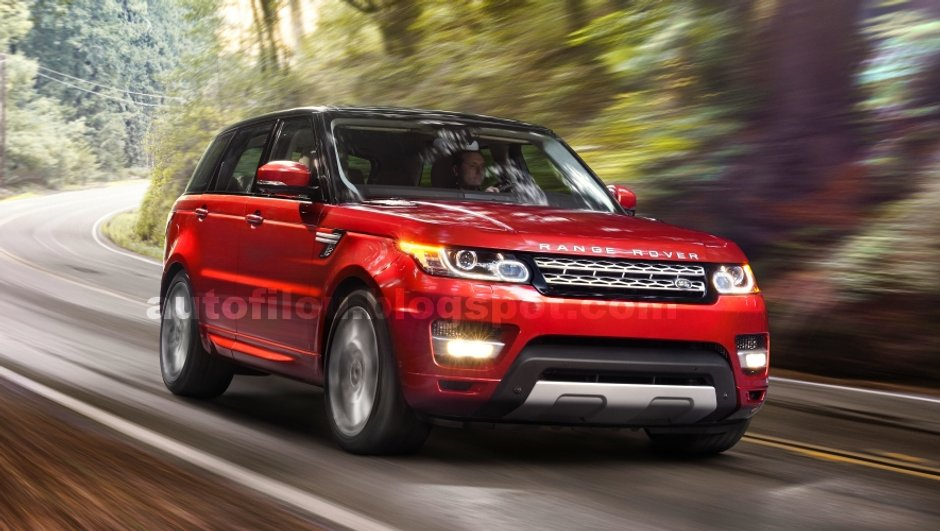 Salon de New York 2013 : Range Rover Sport, photos en fuite