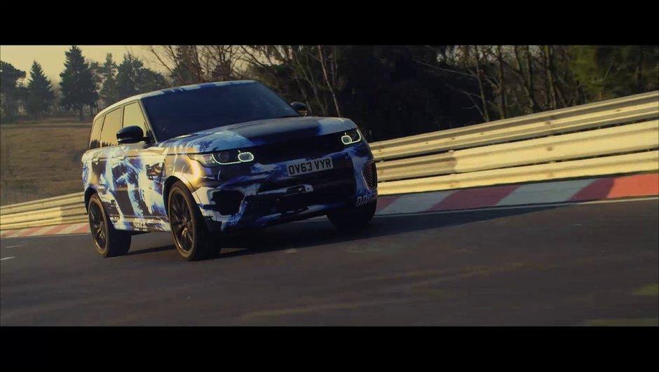 Range Rover Sport SVR 2015 : record au Nürburgring pour un SUV