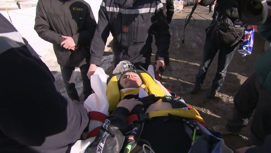 Vidéo Automoto - Guerlain Chicherit réagit après son accident