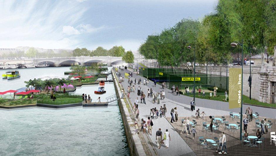 Réaménagement des quais de Seine à Paris !