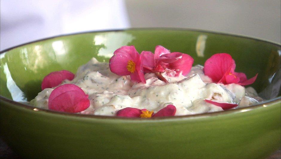 Aubergines au yaourt à la turque - Reine Saummut