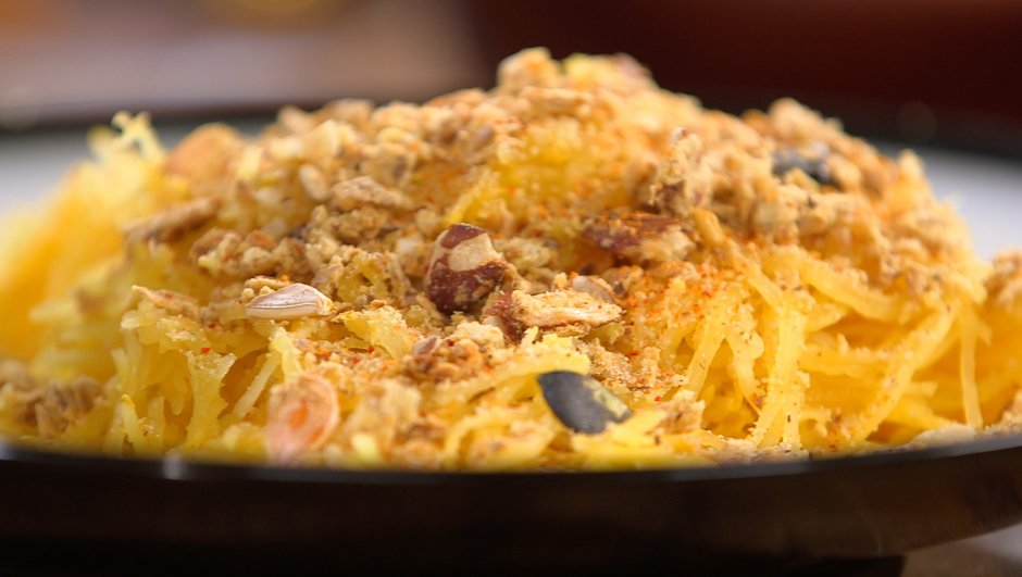 Crumble de courge spaghetti